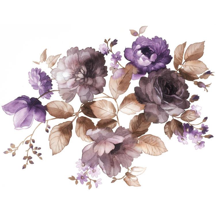 Watercolor October Florals