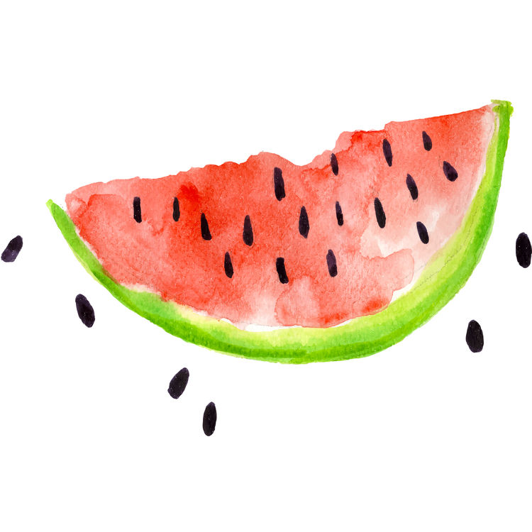 Watermelon with Black Seeds