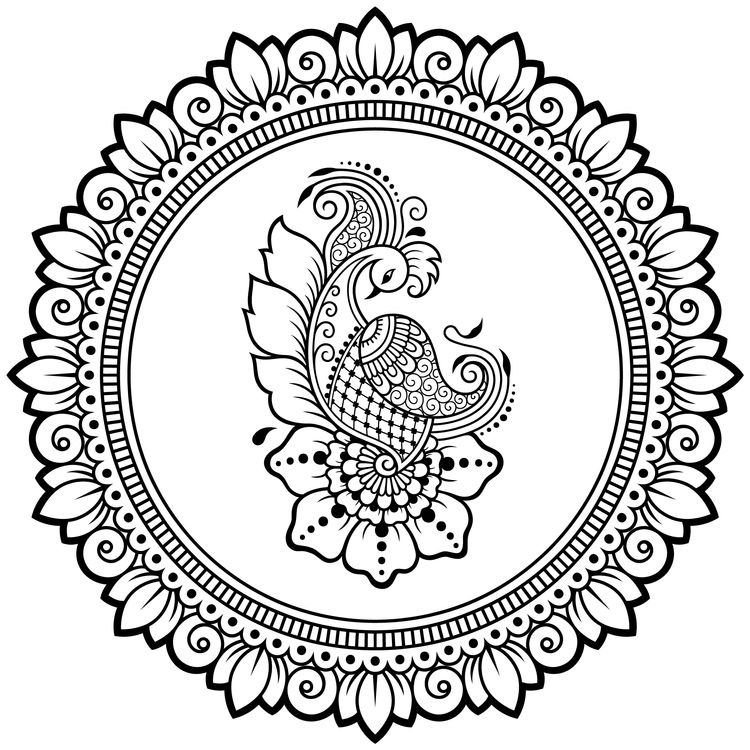 Koi Mandala