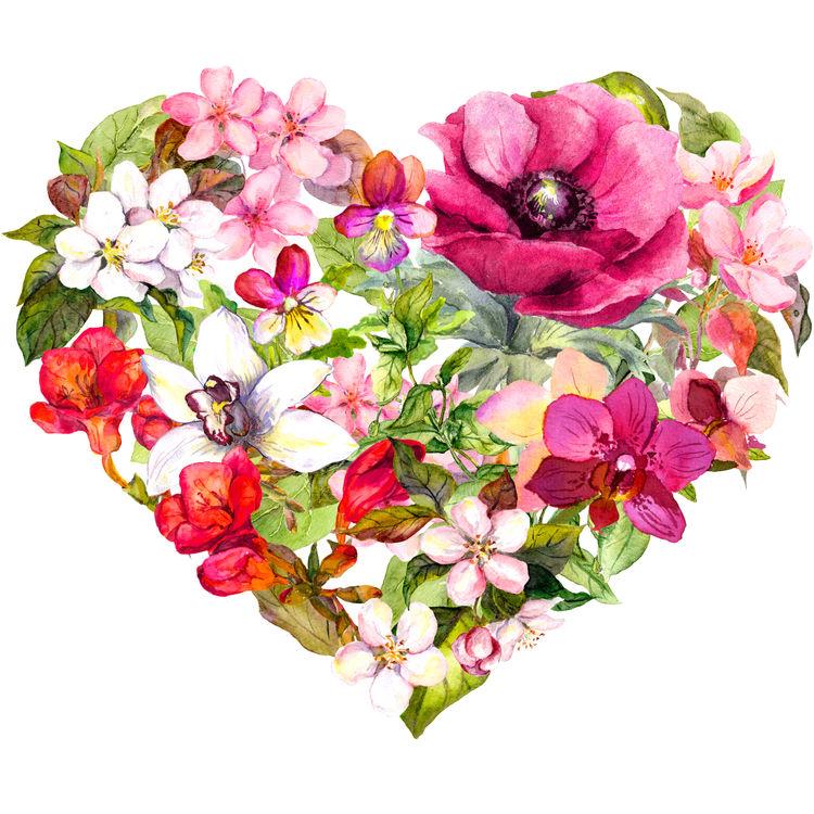 Heart Filled Garden