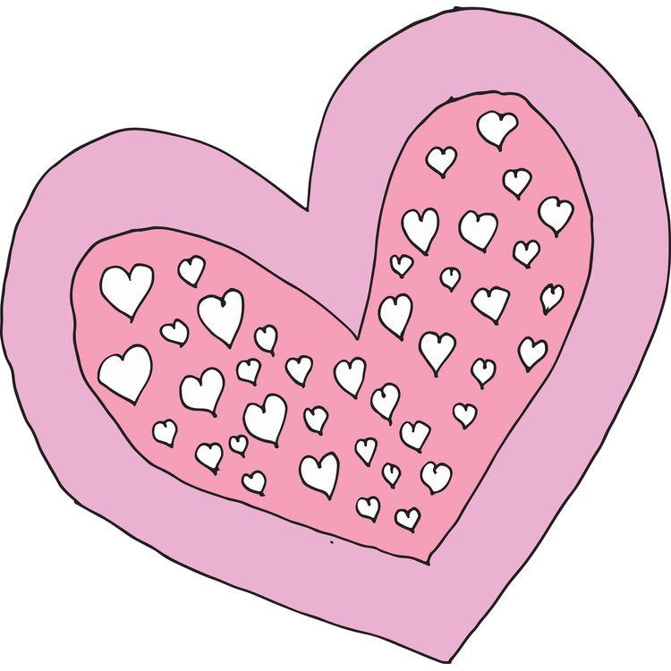 Playful Pink Heart