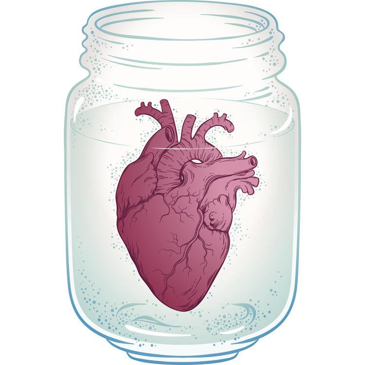 Jar Filled Heart