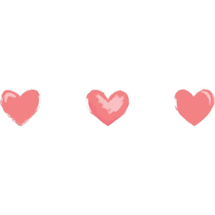 Three Loving Hearts