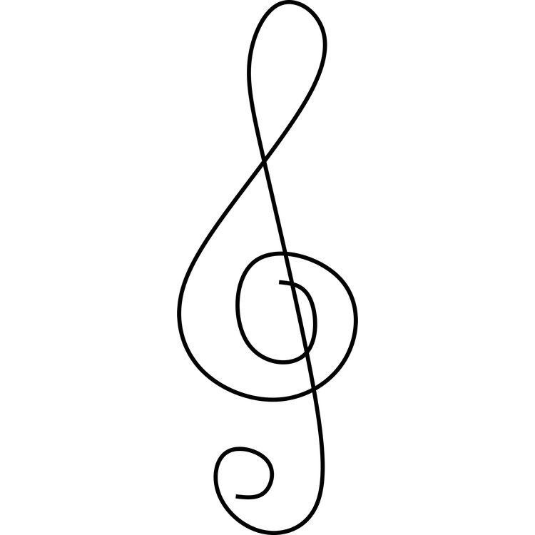 Treble Clef Symbol
