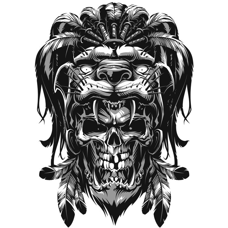 Savage Raul, the Skull