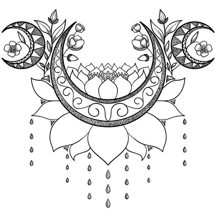 Moon Rising Lotus