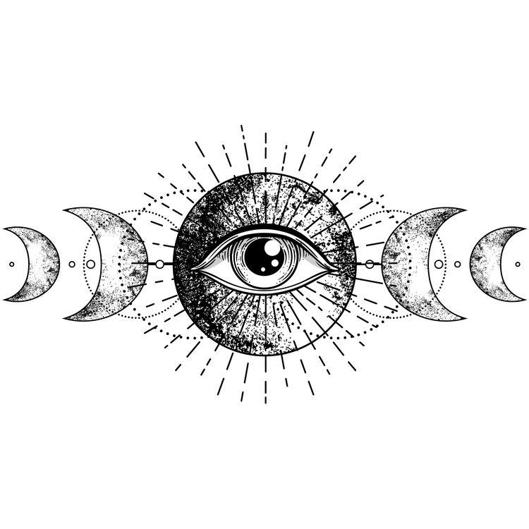 Sparkling Eye Moon