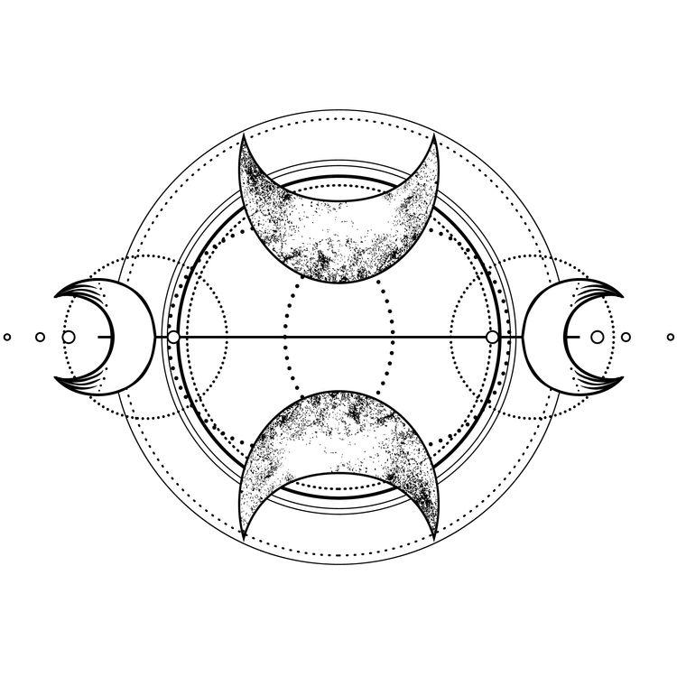Rotating Moons