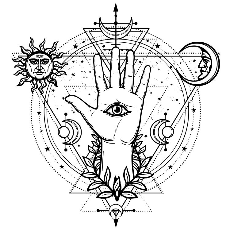 Eye of Providence and Space