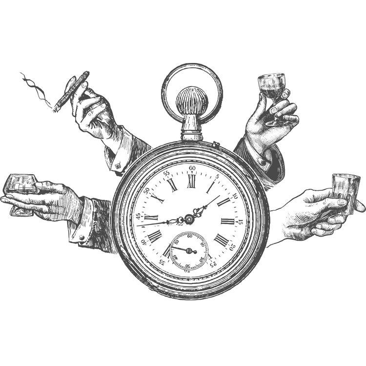 Retro Pocket Watch