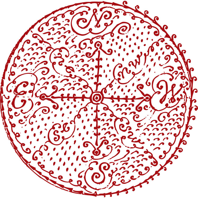 Red Rose Compass