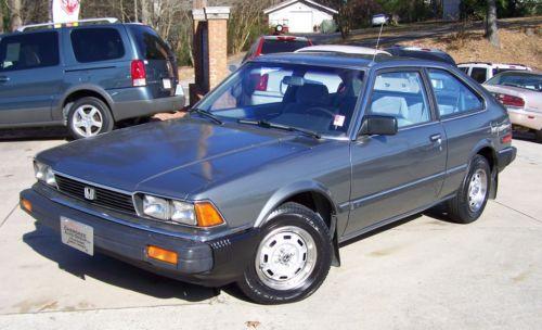 1983 Honda Accord LX Hatchback