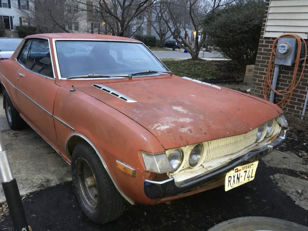 1972 Toyota Celica ST