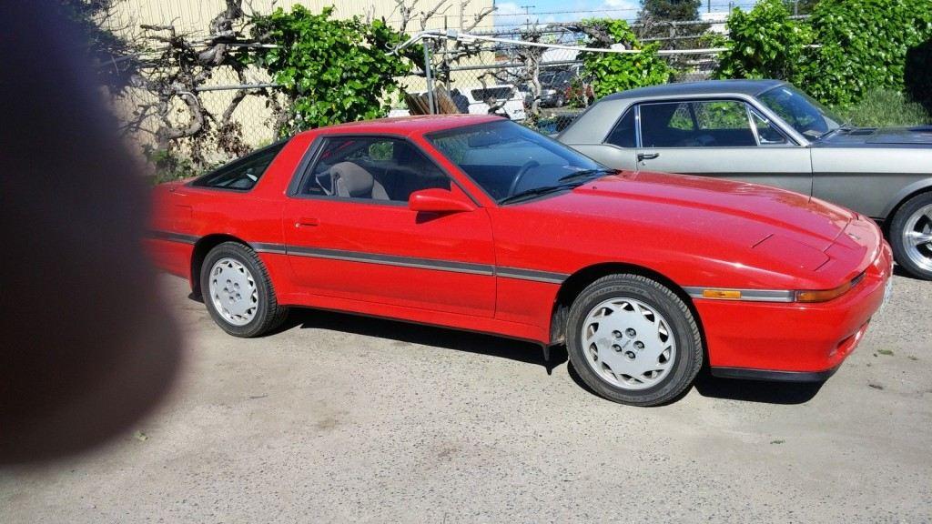 1989 Toyota Supra Sports car