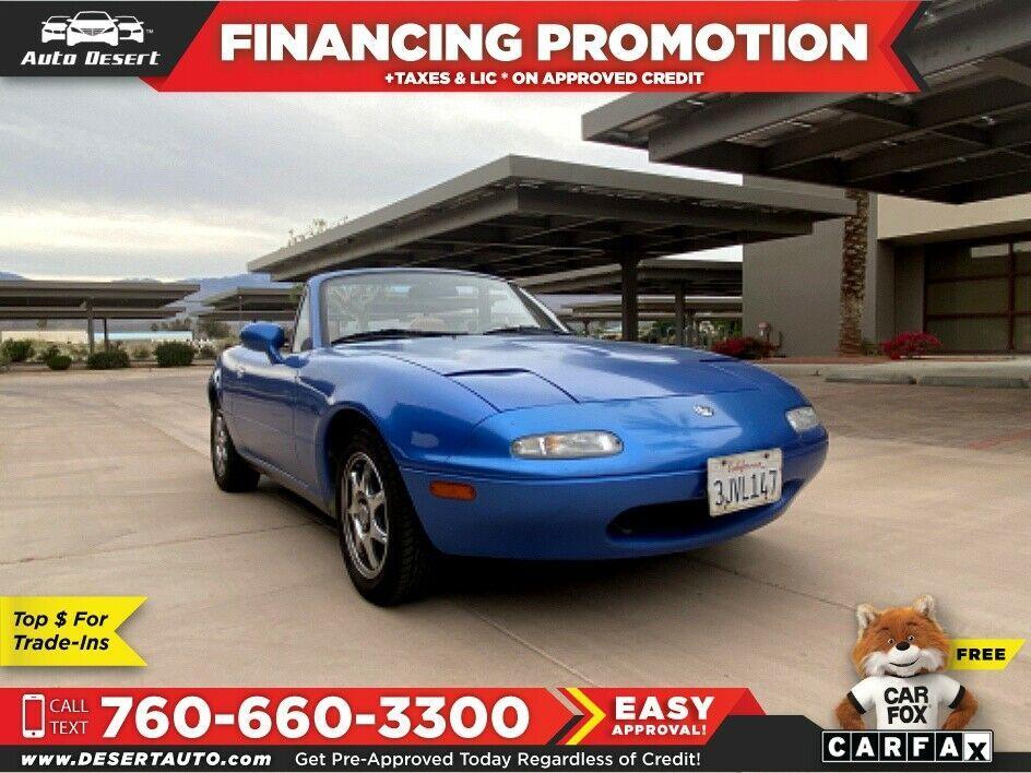 1994 Mazda MX 5 Miata, Blue with 84,200 Miles