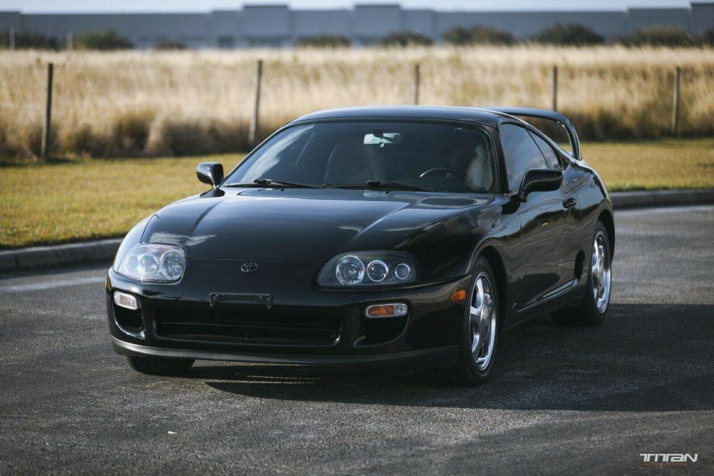 1997 Supra Stock Black 6 speed