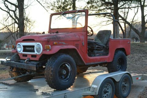 1972 Toyota Land Cruiser 4X4 FJ40 Project for sale