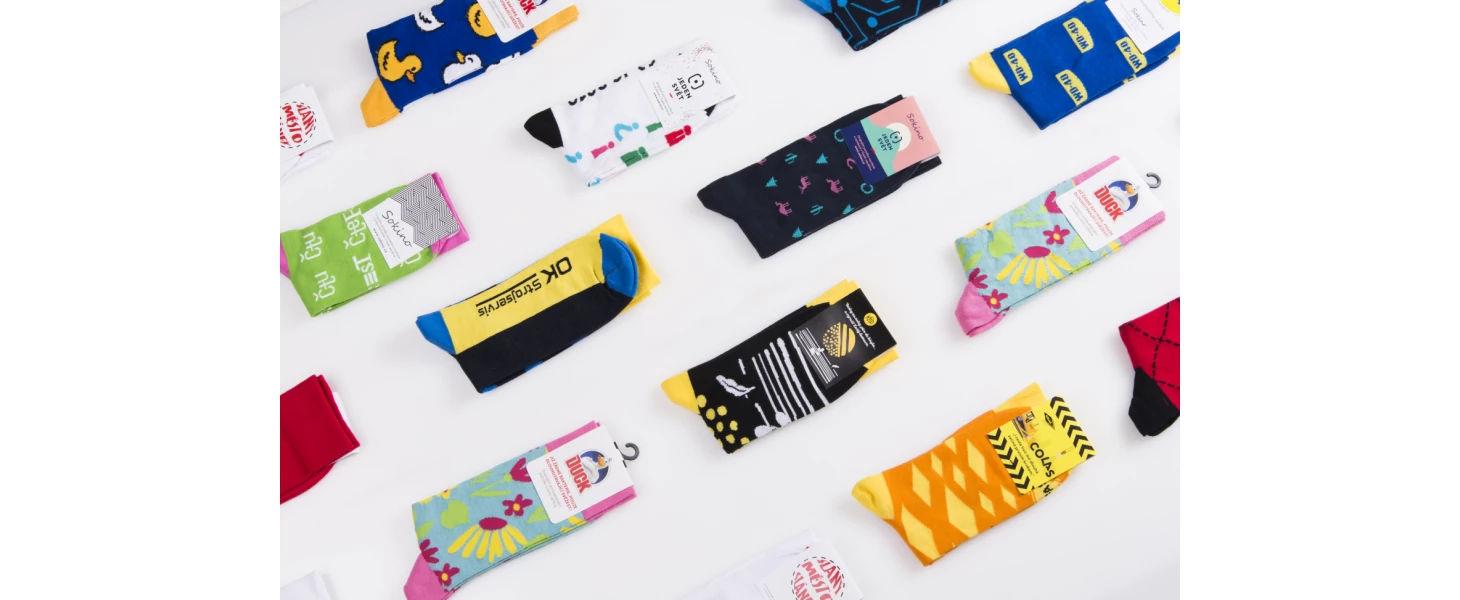 Pohodlné a funkčné ponožky Sokino