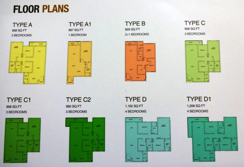 United Point Residence Floor Plan