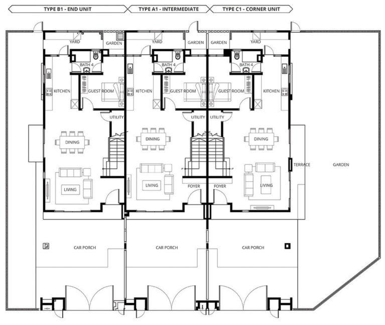 Gamuda Gardens Aida Floor Plan