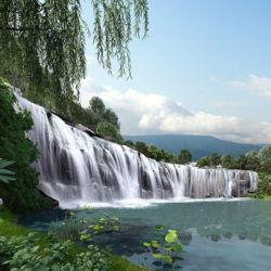 the majestic waterfall gamuda gardens