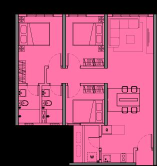 MCentura Floor Plan Type B