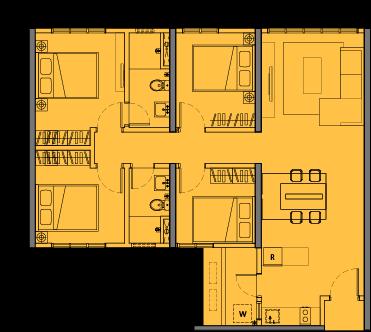 MCentura Floor Plan Type C