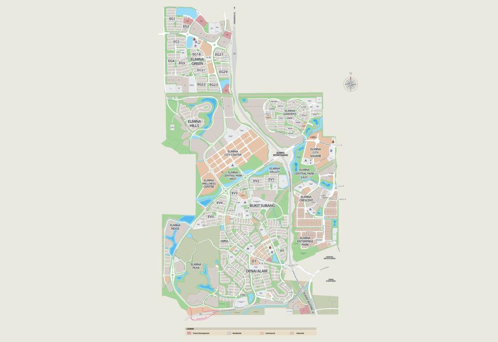 city of elmina masterplan