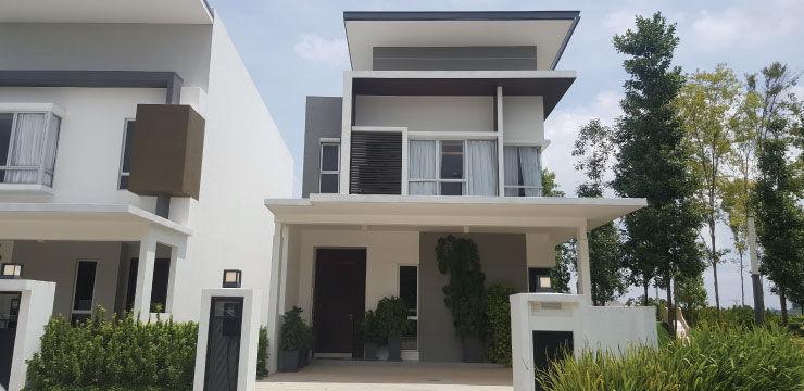 gamuda gardens terrace house