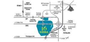 16 sierra location map