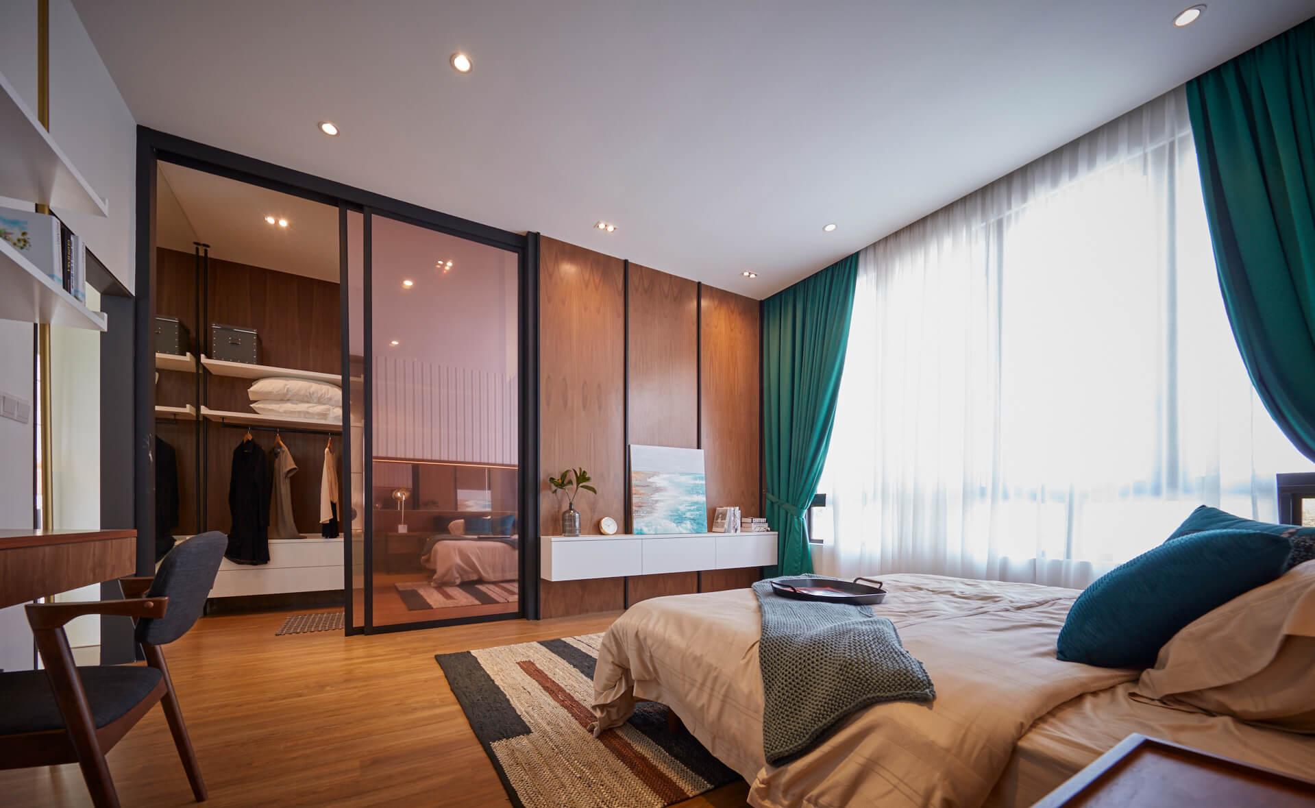 master bedroom gamuda gardens jovita