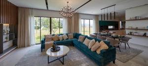 gamuda gardens jovita spacious living room