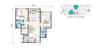 alstonia floor plan type a1