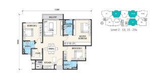 alstonia floor plan type B1