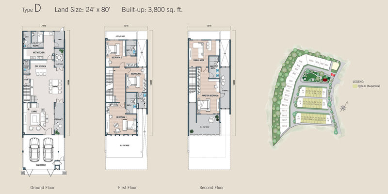 kalista floor plan type D