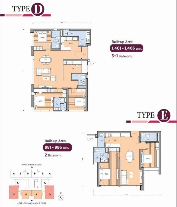 tropicana dianthus floor plan