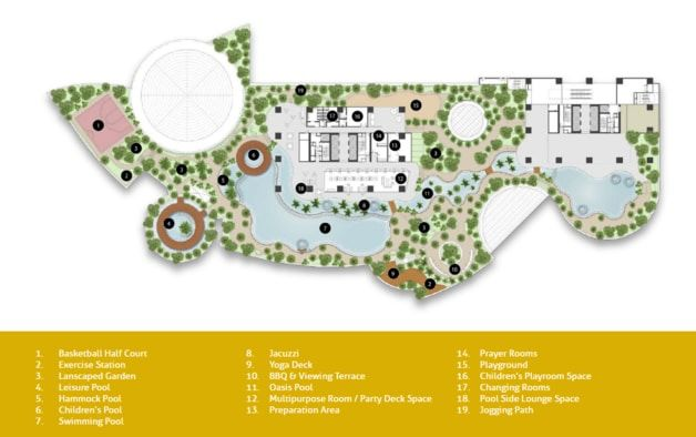 masterplan of tropicana gardens kota damansara