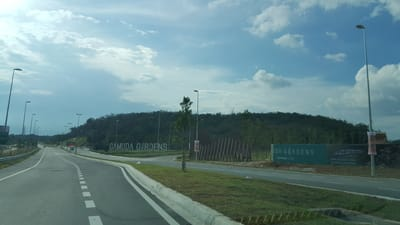 entrance to gamuda gardens