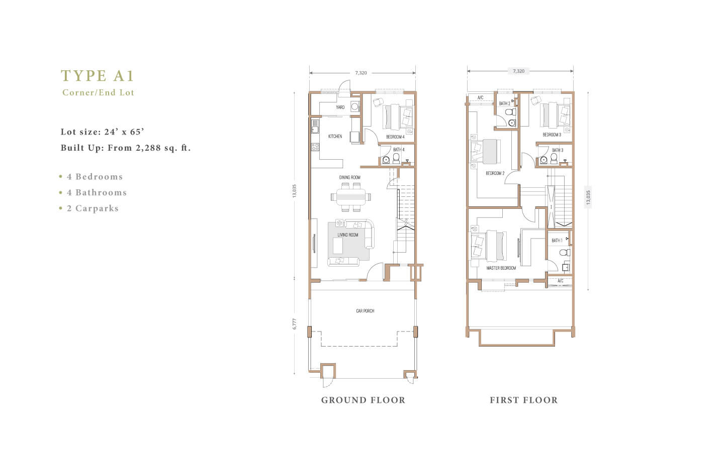 joya floorplan A1