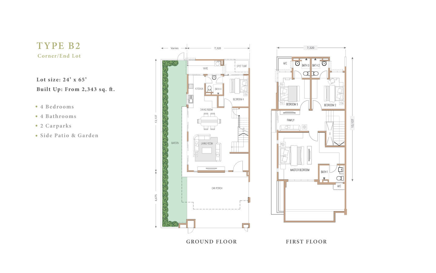 joya floor plan B2