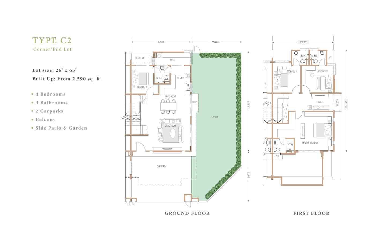 joya floor plan C2