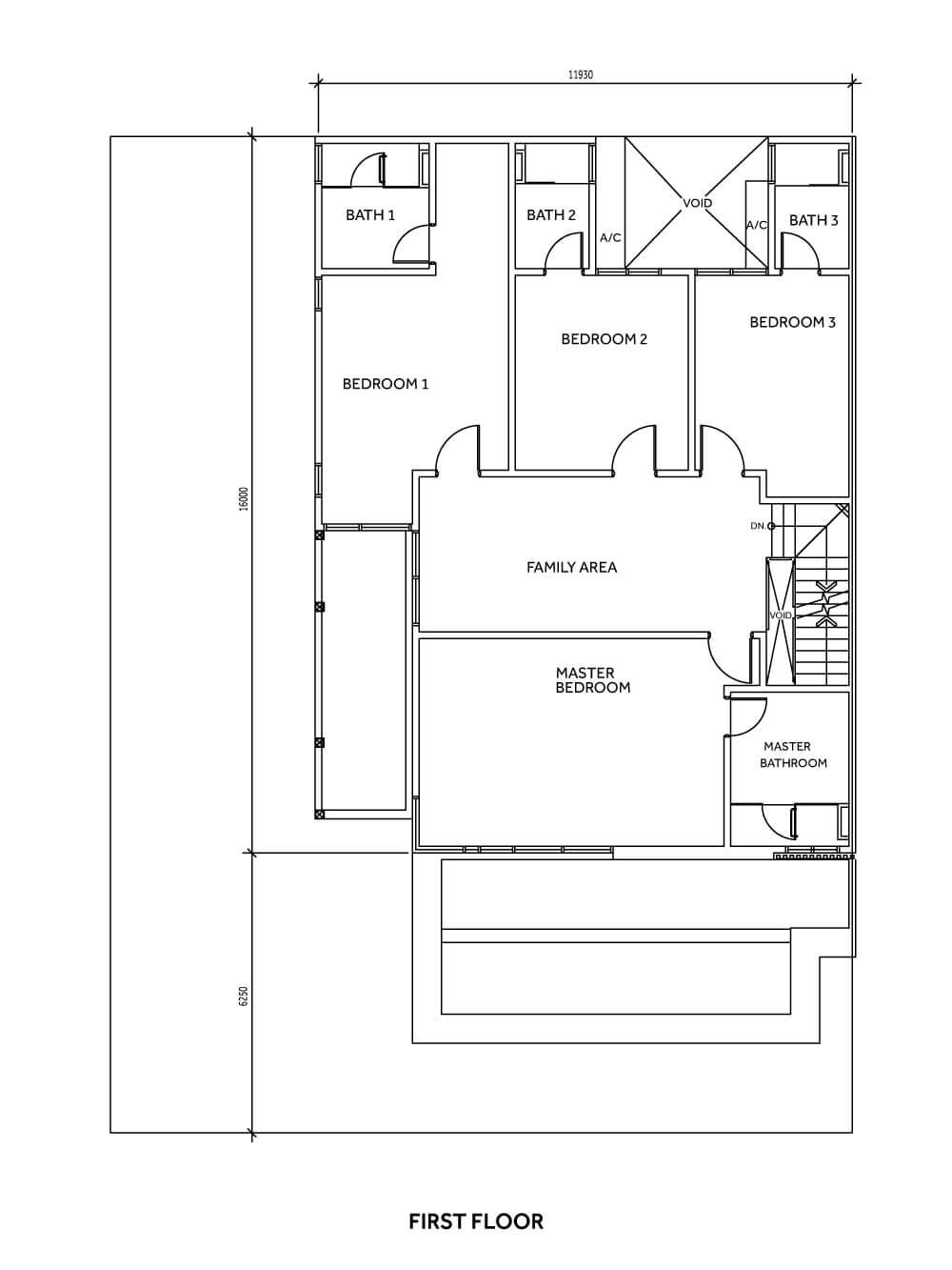 Sierra 6 Type D First Floor