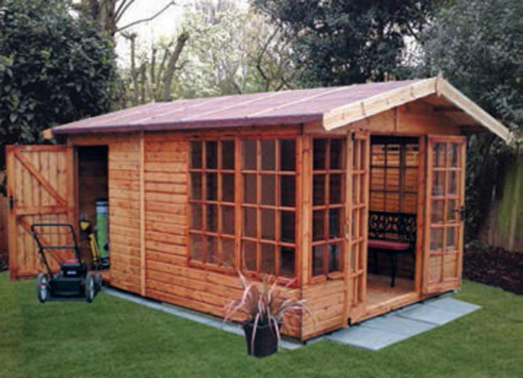 10' x 14' deal Newland with internal partition