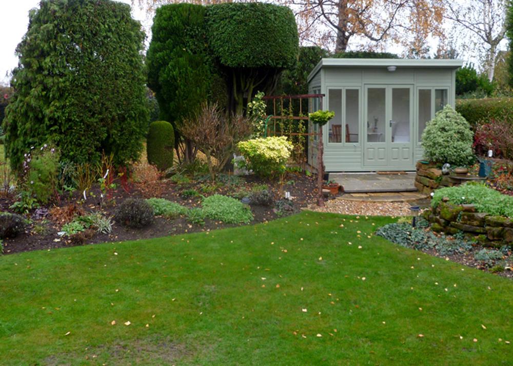 Stretton Cottage Range summerhouse Malvern Garden Buildings