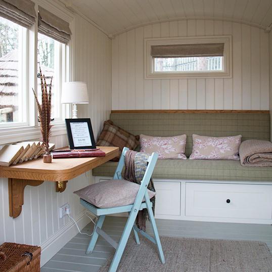 Shepherd Hut Inner