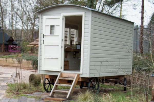 Shepherd Hut at Staffordshire Showsite