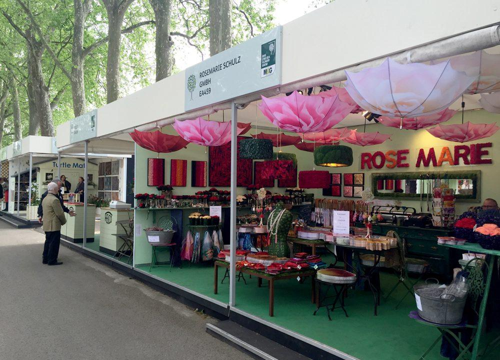Tradestand at RHS Chelsea 2016