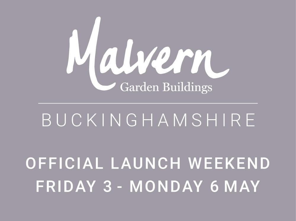Malvern Garden Buildings new Buckinghamshire showsite at Buckingham Garden Centre