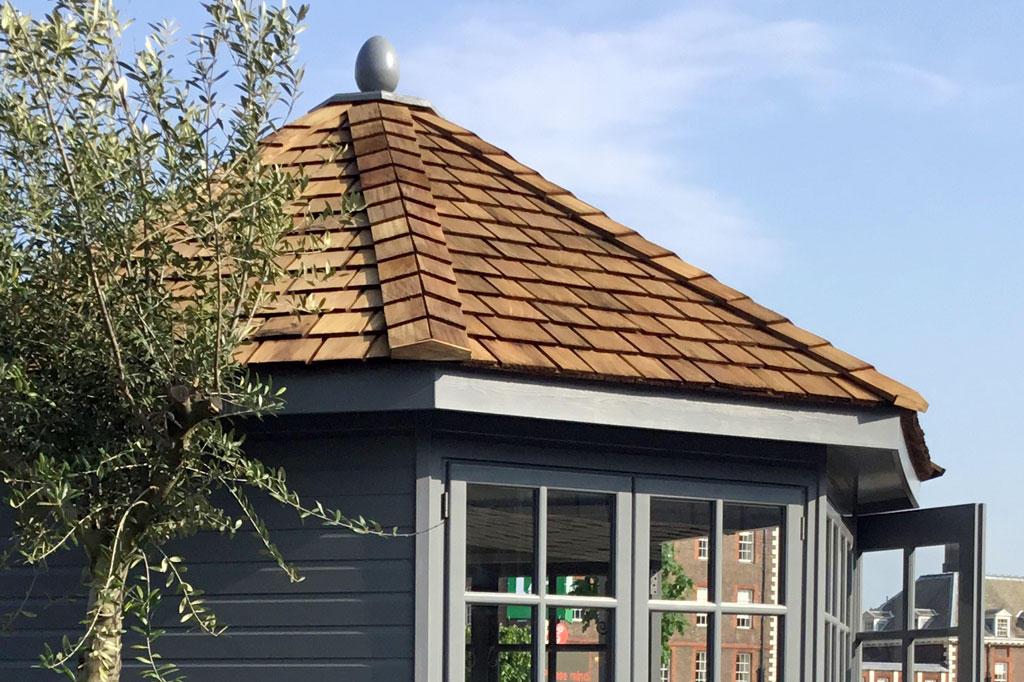The Kew Imperial premium summerhouse by Malvern Garden Buildings