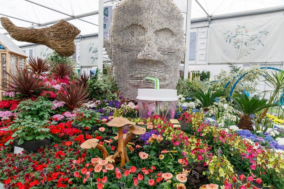RHS Chelsea Floristy at the RHS Chelsea Flower Show.2019.